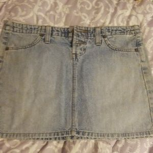 Lei blue jean ladies miniskirt